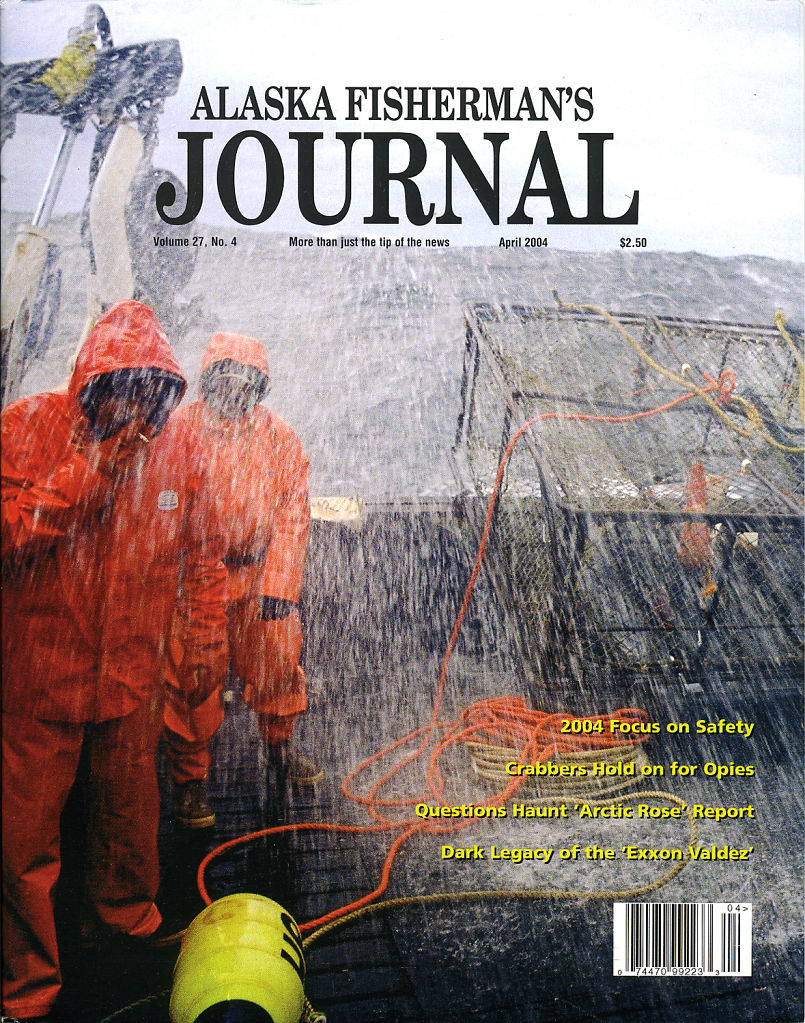 Alaska Fisherman's Journal, April 2004