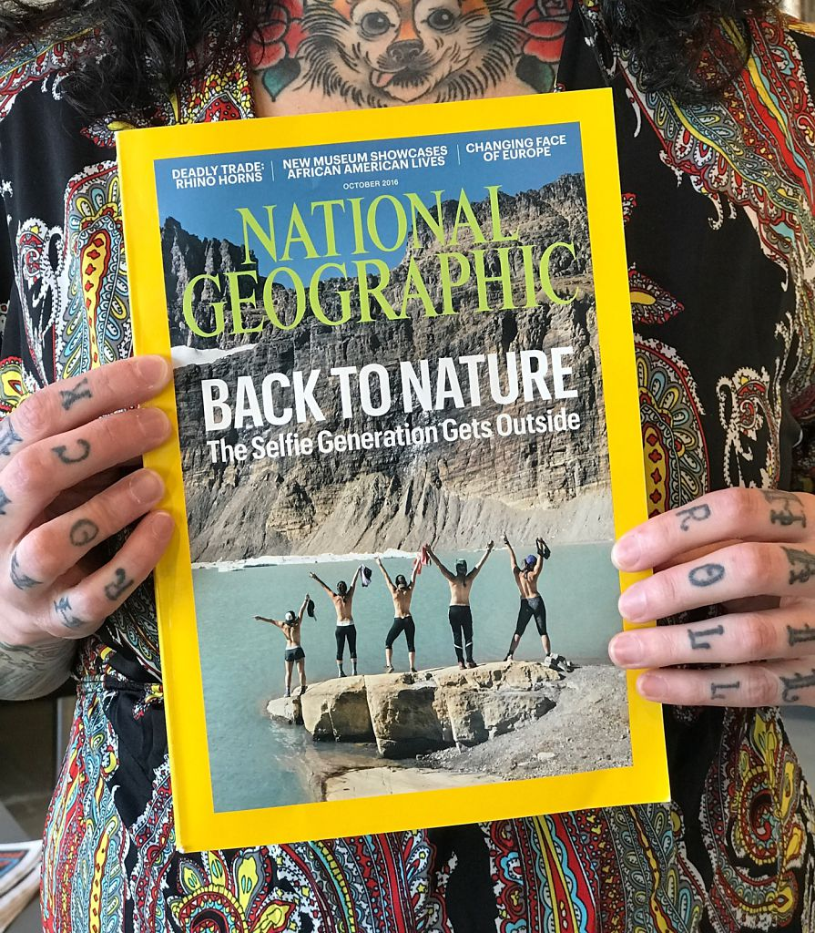 National Geographic Cover Story, October 2016