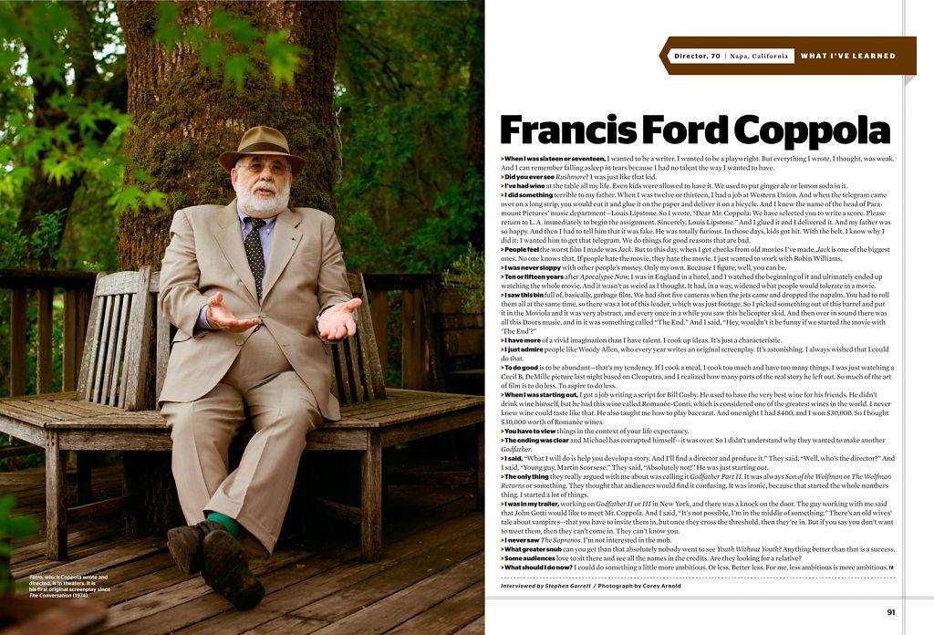 Esquire Magazine, 2009